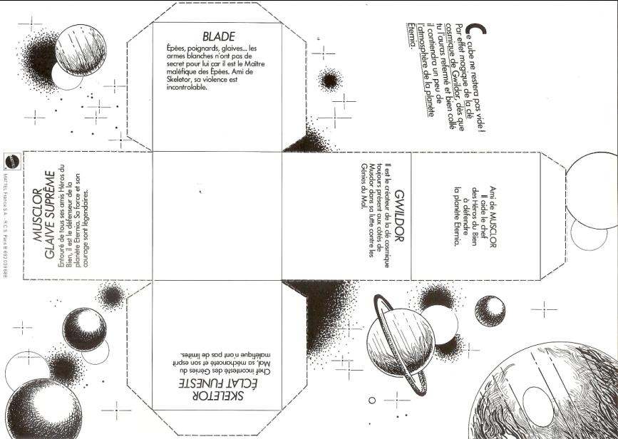 Le club des Maitres de l'Univers ( vintage ) : les objets 120101021122668849242682