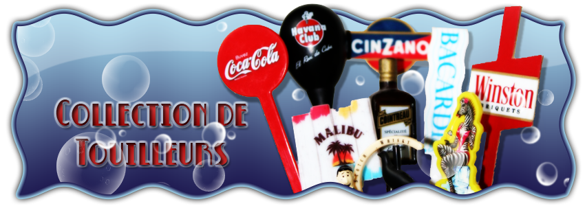 Collection de touilleurs (Swizzle sticks collection)