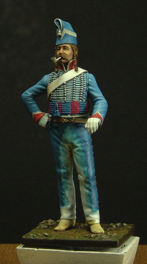 Maréchal des logis du 10 ème Hussard, tenue de cantonnement 120108010205359349271989