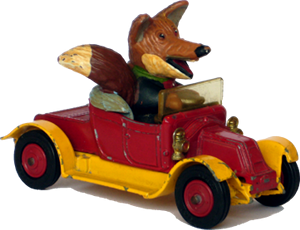 Renault Basil Brush car Corgi-Toys