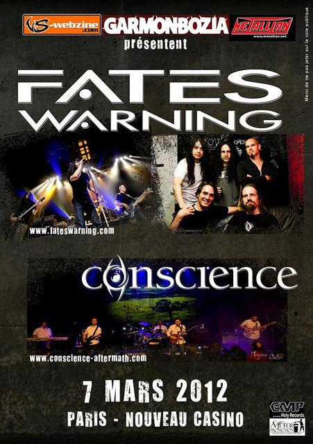 Fates Warning @ Paris