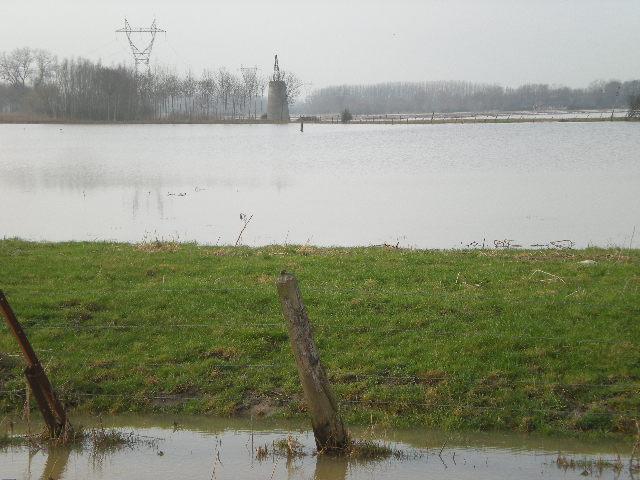 Driehoek Calais Sint-Omaars Duinkerke onder water? 1203060844161419619542781