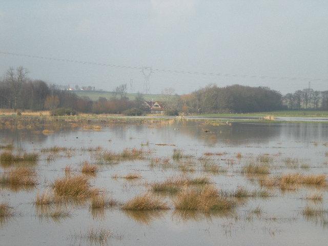 Driehoek Calais Sint-Omaars Duinkerke onder water? 1203060902071419619542842