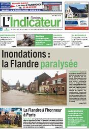 Driehoek Calais Sint-Omaars Duinkerke onder water? 1203071145481419619544379
