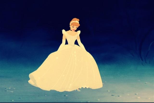 Disney princess belle wedding dress