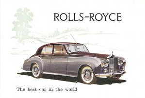 Catalogue Rolls-Royce Silver Cloud III