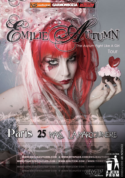 Emilie Autumn @ Paris