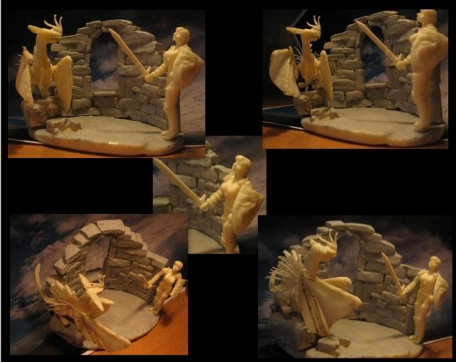 Dragonnière et son dragon. 1203210838561059489613194
