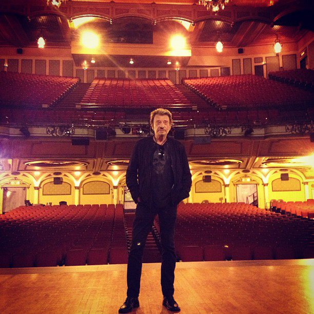 "Set list ""TOUR 2012"" JOHNNY HALLYDAY 24/04/2012 Orpheum Theatre (Los Angeles) 1203241203141423619622683"