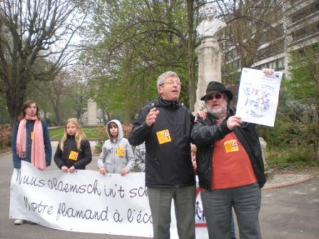 Zaterdag 31 maart 2012 : gemeenschappelijke manifestatie in Rijsel voor de erkenning van het Vlaams en het Picardisch 1203311048021419619656070