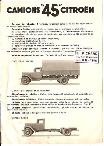 """Citroen 45 """"pour les nuls"""" 1/35 ème 120401060140854609659705"""
