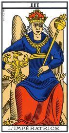 """La carte du tarot """"L'Impératrice"""" 120402034314385009663452"""