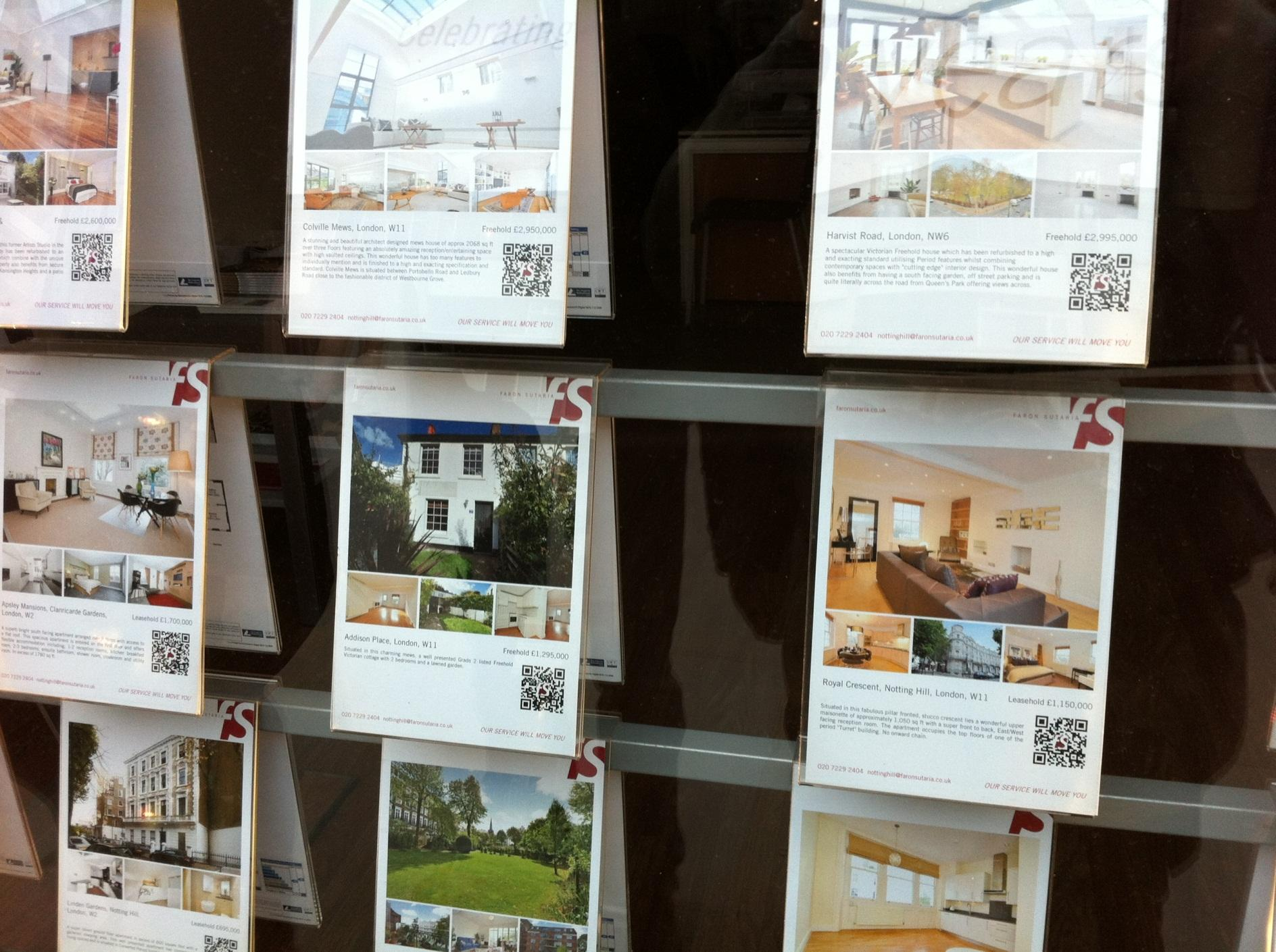 Usage QR Code Agence immobiliere
