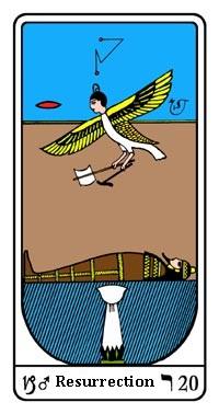 """La carte du tarot """"Le Jugement"""" 120403075105385009669497"""