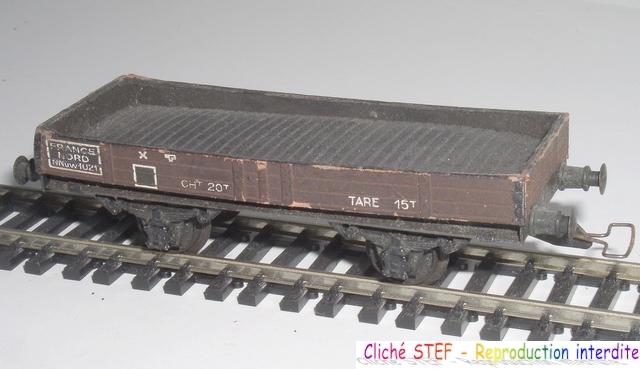 Wagons plats 2 ess maquette et semi maquette vides 120403083108878979666756
