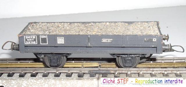 Wagons plats 2 ess maquette et semi maquette chargés par ordre alphabetique 120403083110878979666763