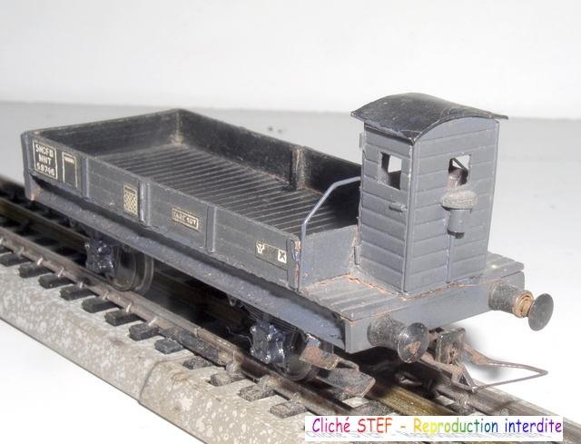 Wagons plats 2 ess maquette et semi maquette vides 120403083111878979666766