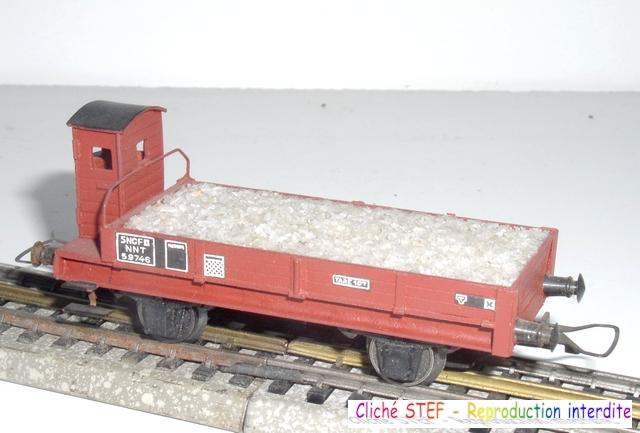 Wagons plats 2 ess maquette et semi maquette chargés par ordre alphabetique 120403083306878979666773