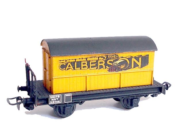 Wagons plats 2 ess maquette et semi maquette chargés par ordre alphabetique 120403083309878979666780