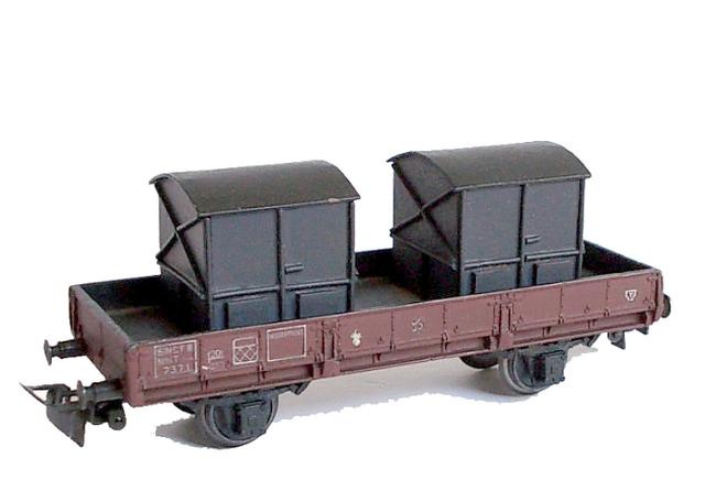 Wagons à 2 essieux zamak à essieux chargés 120403083538878979666795