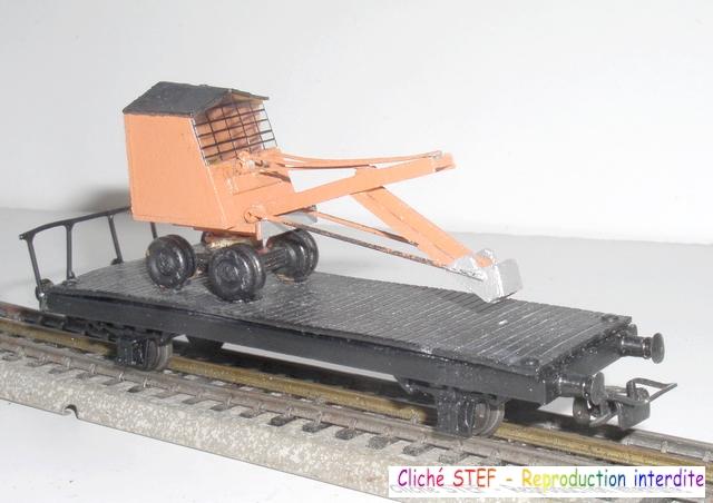 Wagons plats 2 ess maquette et semi maquette chargés par ordre alphabetique 120403092427878979666900