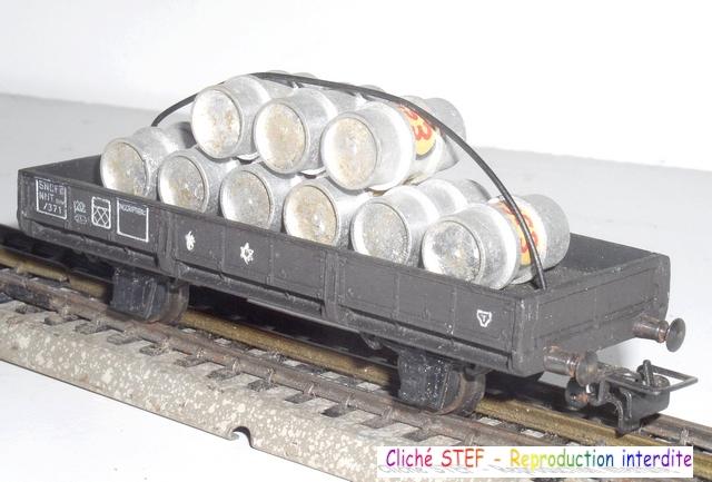 Wagons à 2 essieux zamak à essieux chargés 120403095352878979666952