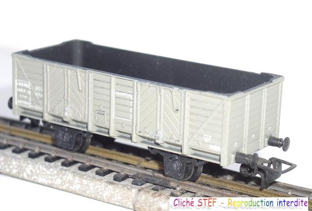 Wagons tombereau 2 essieux zamak 120404012220878979671730