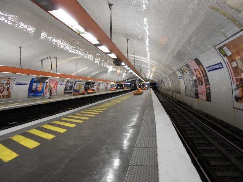 Métro Porte Charenton ligne 8