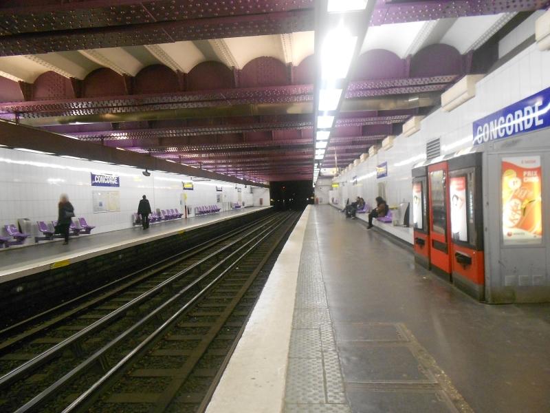 Métro Concorde ligne 8