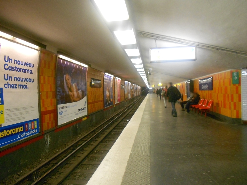 M tro ligne 8 lignes transports - Porte de charenton metro ...
