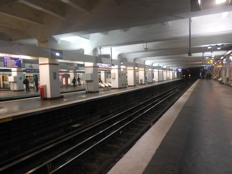 Porte Saint-Cloud ligne 9