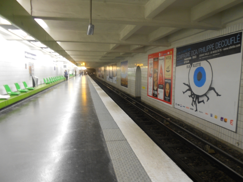 Métro Grands Boulevards L9