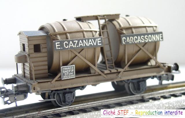 Wagons à 2 ess maquette citernes, foudres 120410071425878979701186