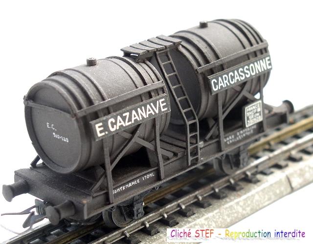 Wagons à 2 ess maquette citernes, foudres 120410071426878979701188