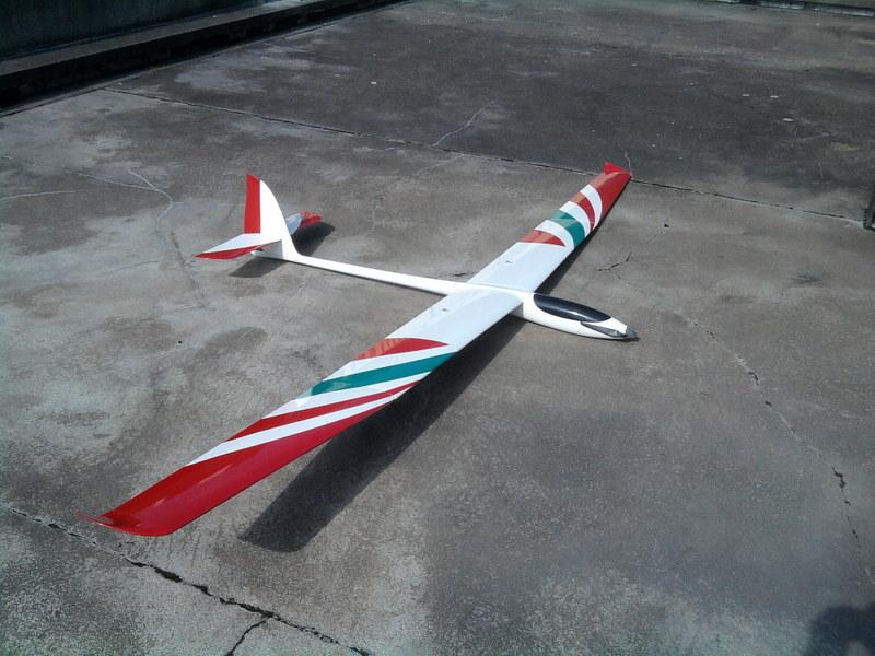 Mon nouveau planeur. 120412100019228119707587