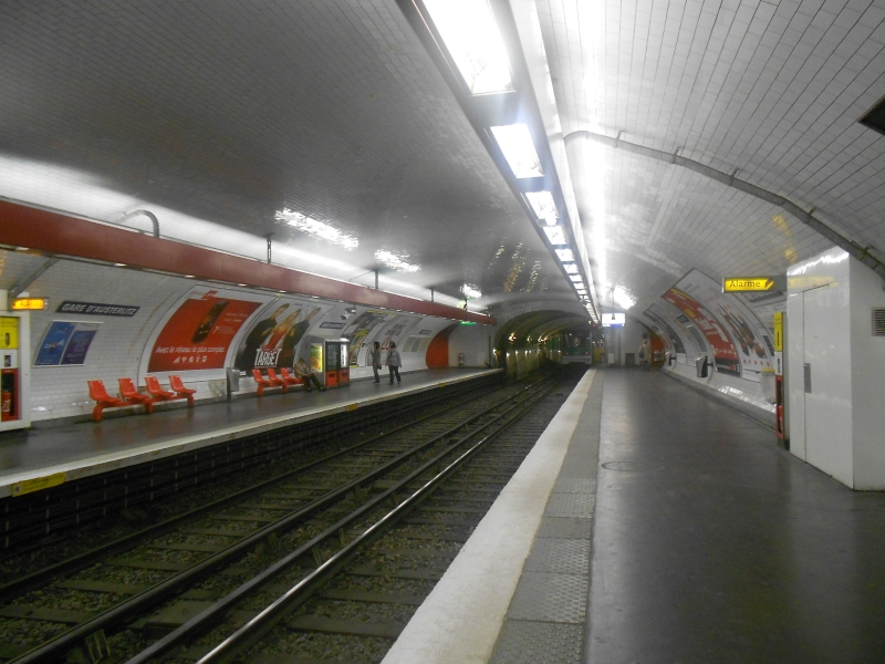 Métro Gare d'Austerlitz ligne 10