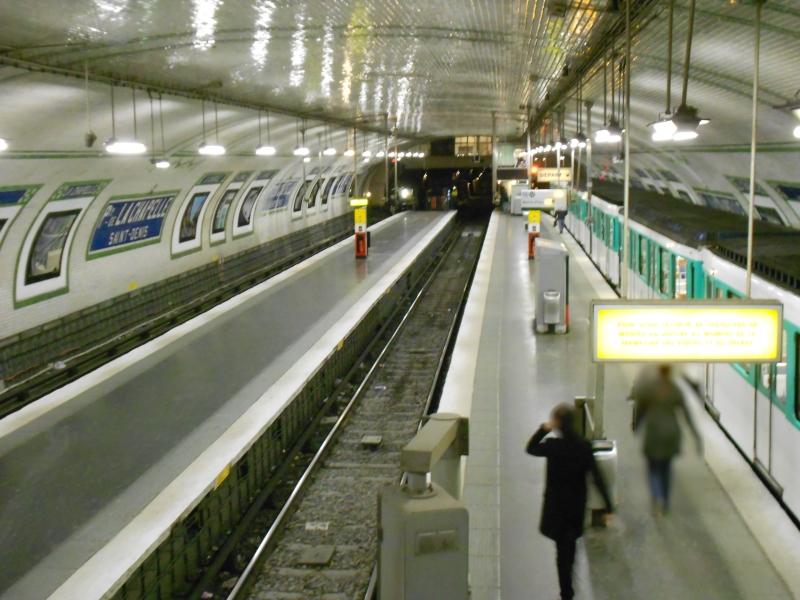 Métro Porte Chapelle ligne 12