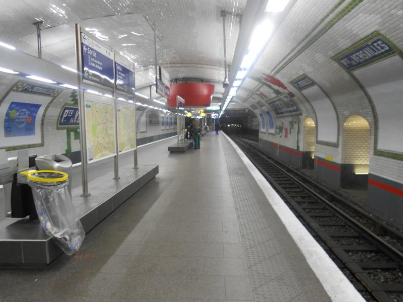 Métro Porte Versailles ligne 12