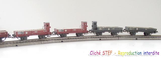 Wagons plats 2 ess maquette et semi maquette chargés par ordre alphabetique 120414074945878979718692