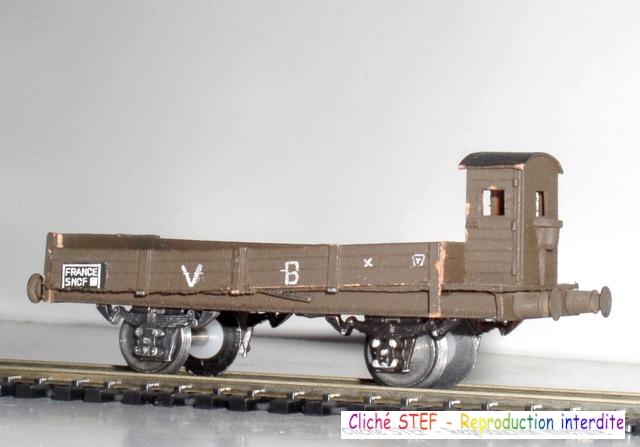 Wagons plats 2 ess maquette et semi maquette vides 120414074946878979718696