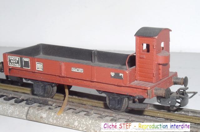 Wagons plats 2 ess maquette et semi maquette vides 120414075214878979718719