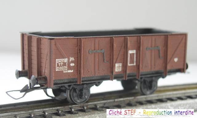 Wagons tombereau 2 essieux maquette vides 120414075357878979718738