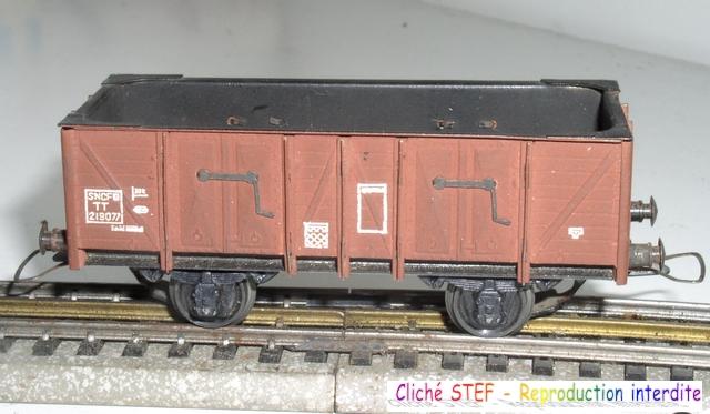 Wagons tombereau 2 essieux maquette vides 120414075358878979718739