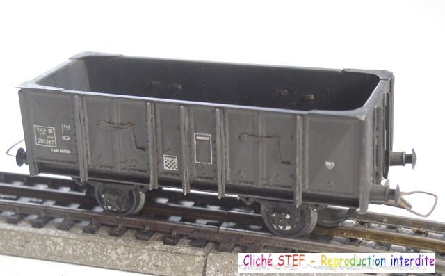 Wagons tombereau 2 essieux maquette vides 120414075358878979718740