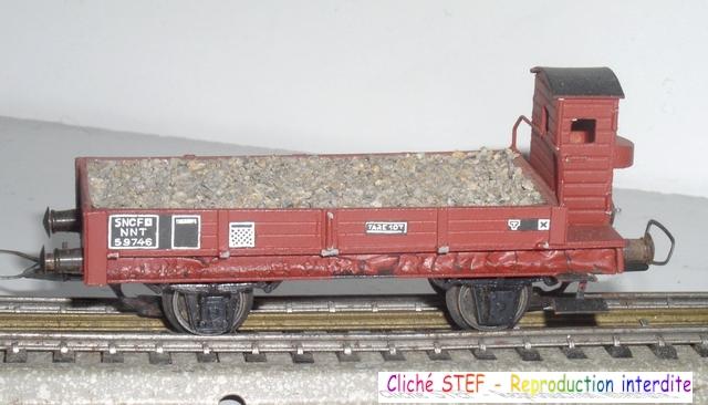 Wagons plats 2 ess maquette et semi maquette chargés par ordre alphabetique 120414080228878979718832