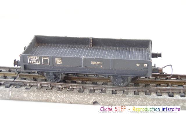 Wagons plats 2 ess maquette et semi maquette vides 120414080456878979718854