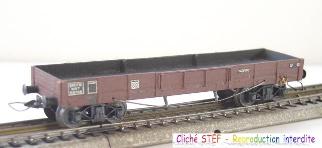 Wagons plats à bogies maquette et semi maquette vides 120414080459878979718859