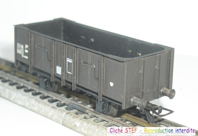 Wagons tombereau 2 essieux maquette vides 120414080740878979718874
