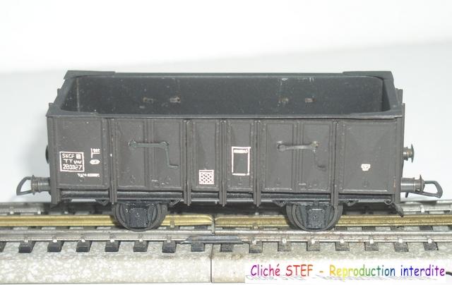 Wagons tombereau 2 essieux maquette vides 120414080740878979718875