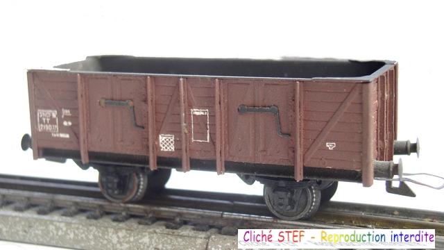 Wagons tombereau 2 essieux maquette vides 120414080740878979718877